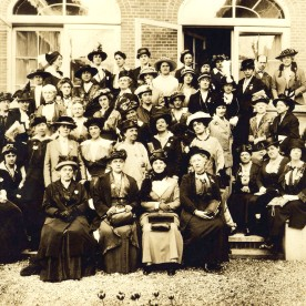 ladies including jane addams at the hague 1915